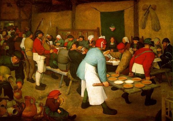 Pieter the Elder Peasant Wedding